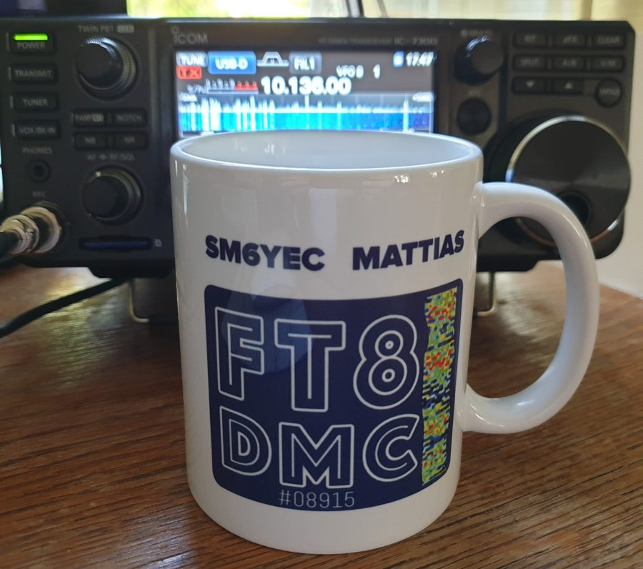 FT8DMC Coffee mug